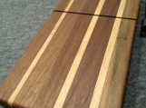 Walnut, Cherry and Maple wire Cheese Slicing Board