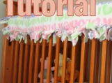 No Sew Tied Quilted Crib Rail Guard Tutorial TM