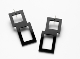 Rio Earrings Black