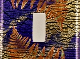 Fall Fronds Decorative Switch Plate