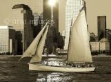 NYC Sunset Sail - Original Fine Art Photography 8x10