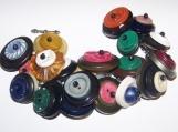 Vintage Stack Button Bracelet