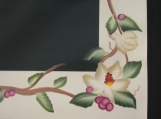 First to Bloom Magnolia Floorcloth