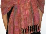 Katsara Handwoven Pashmina Scarf Shawl Wrap in Pink