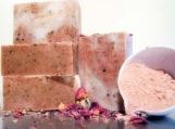 Shea Butter & Pink Clay Rose Soap