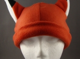 Fox Animal Fleece Hat skiing Snowboarding Winter ChemoCap Warm
