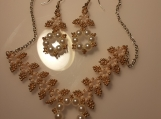 Fairytale Necklace and Earring Bridal Set