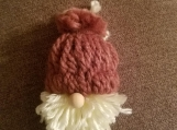 Gnome Ornament- Pink