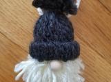 Gnome Ornament-black