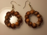 Wreath Beaded Earrings