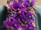 Purple Festive Art