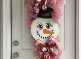 Snowman Swag Wreath