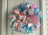 Sweet Dreams Candy Christmas Wreath