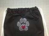 """Puppy Love"" Handmade Drawstring Back Setpack"