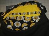 """Daisy"" Print Drawstring Backpack"