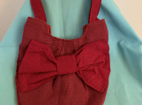 Red Bow Handbag