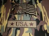 """USA"" Camo Drawstring Backpack"