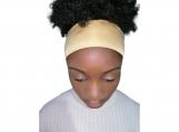 Satin edge scarf to protect hair edges