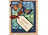 Happy Mother's Day Card - Butterflies