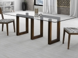Glass Top Maze Dining Table Glass Top Maze Base Dining Table