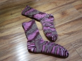 Custom Handmade Wooly Socks