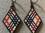 Burberry Style Earrings