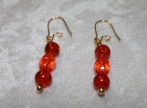 Burning Embers Collection Earrings