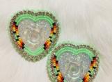 Medium Beaded Earrings