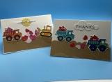 My Children's Thankyou- 2 trucks boy
