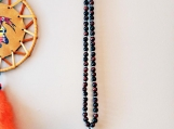 Men's Native Necklace with Tiger Eye Stones
