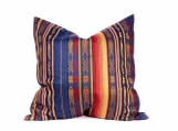 Colorful Decorative Inca Pillows, Tribal Pattern