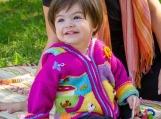 Girls Wool Knitted Sweater, Animal Jacket, Baby Cardigan (Pink)