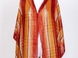 Burnt Orange Pashmina Scarf / Shawl (Orange)