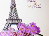 """Hello Paris!"", Original Native Canadian Painting"