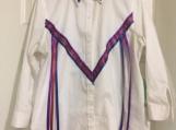 Lady's Ribbon Blouse/Regalia, Custom-made, Native Canadian