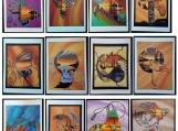 Set of 10 Cards, Prints of Original Indigenous Paintings