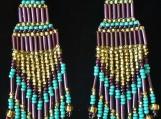 Mayan Indigenous Beaded Earrings