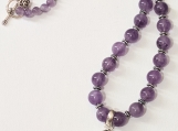All amethyst necklace
