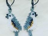 Bird Beaded Earrings