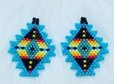 Colorful Native Beaded Earrings