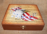 Patriotic Eagle Box