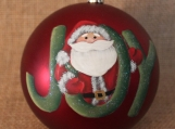 "Santa ""JOY"" Ornament"