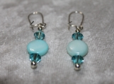 Sky Blue Clover Collection Earrings