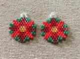 Small Christmas Earrings