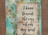 Song of Solomon Wall Plaque