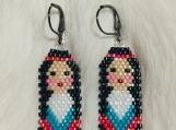 Colorful Native Beaded Ladies