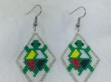 Native Beaded Earrings (Turtle)