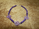 Purple Clover Collection Necklace (Smaller)