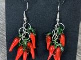 Feeling Fiery Chili Pepper Earrings