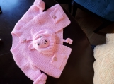 This Little Piggy baby gift set (hat and jacket)